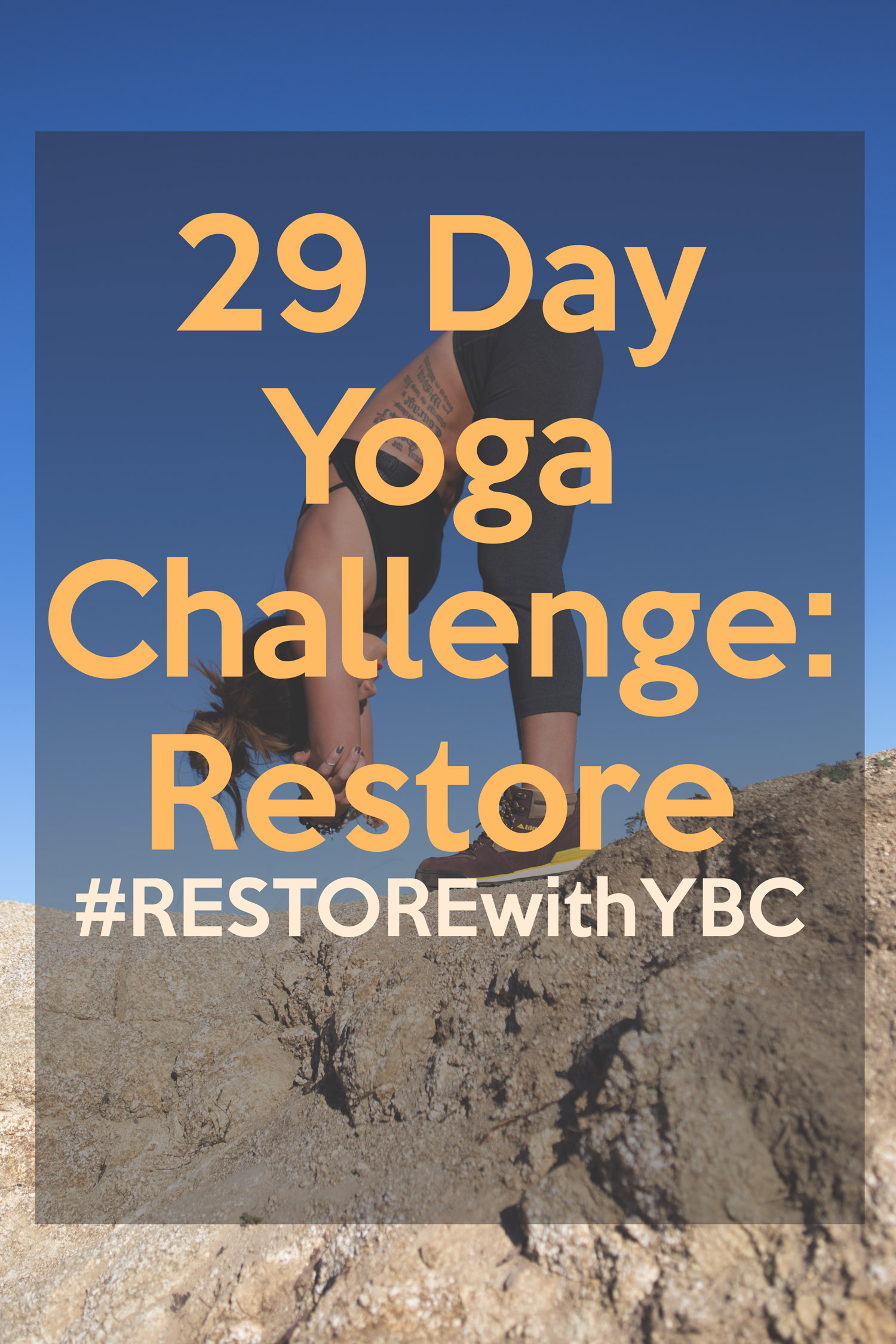 Pin now, practice later! 29 Day Restorative Yoga Program