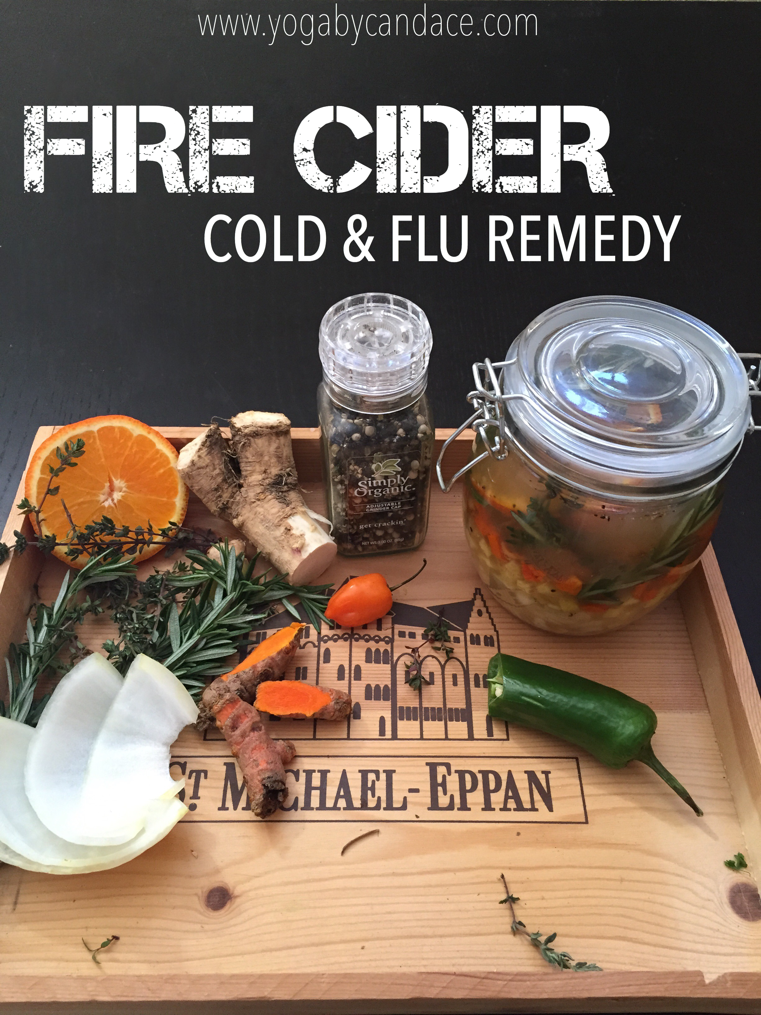 DIY Fire Cider Tonic : Pin now, make later