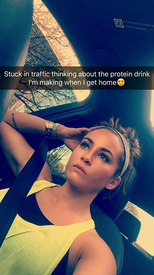 Traffic jam snaps