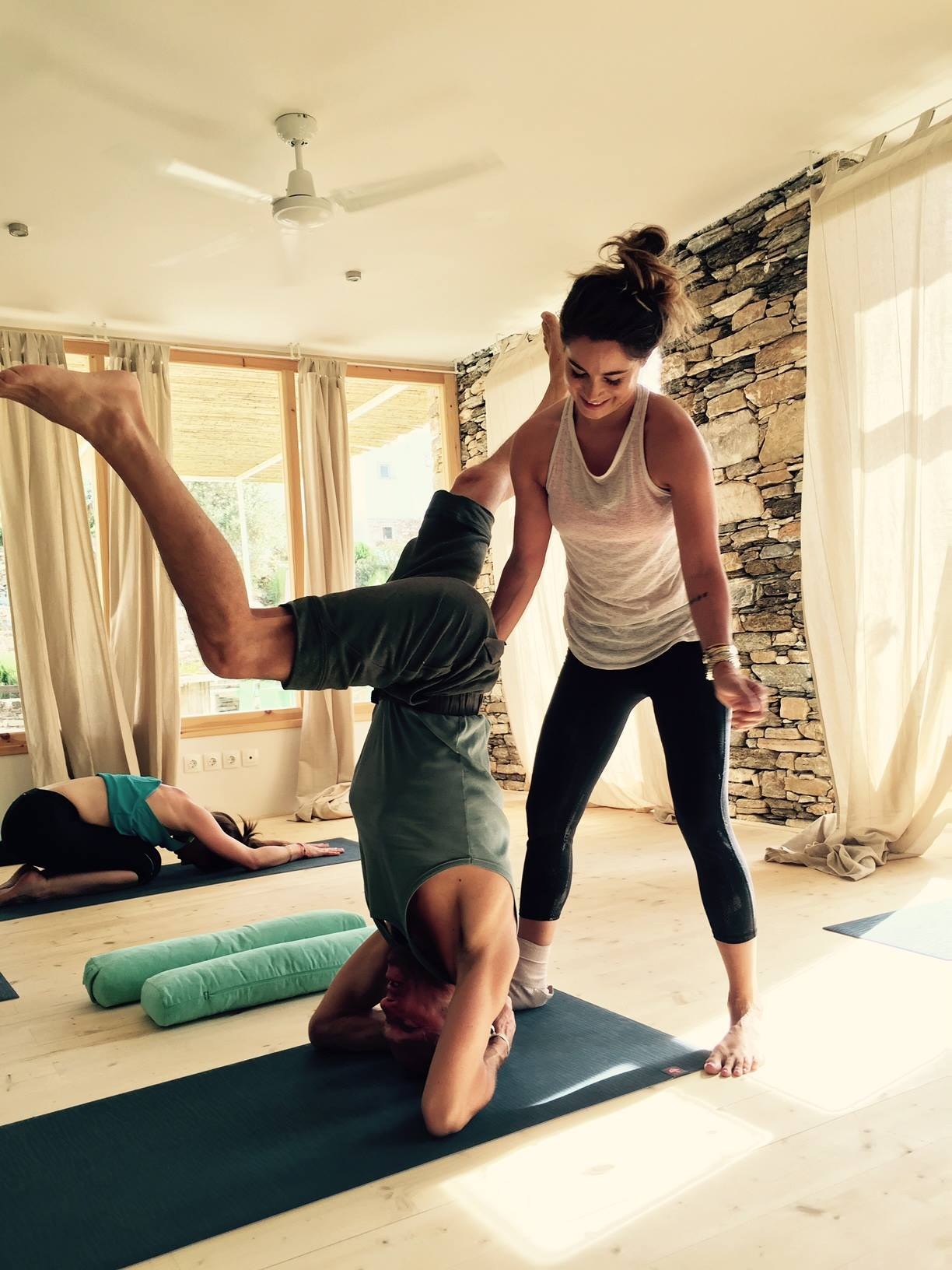 What would you like to tell your yoga teacher?