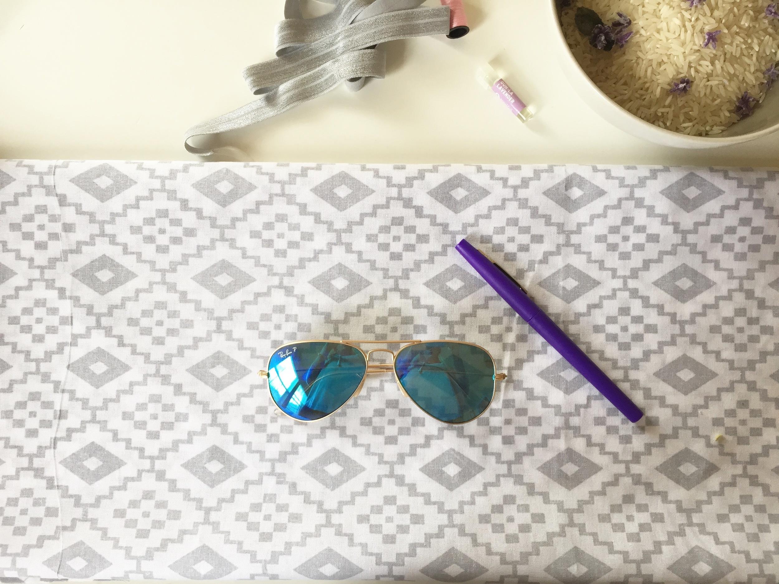 DIY Eye Mask Pattern