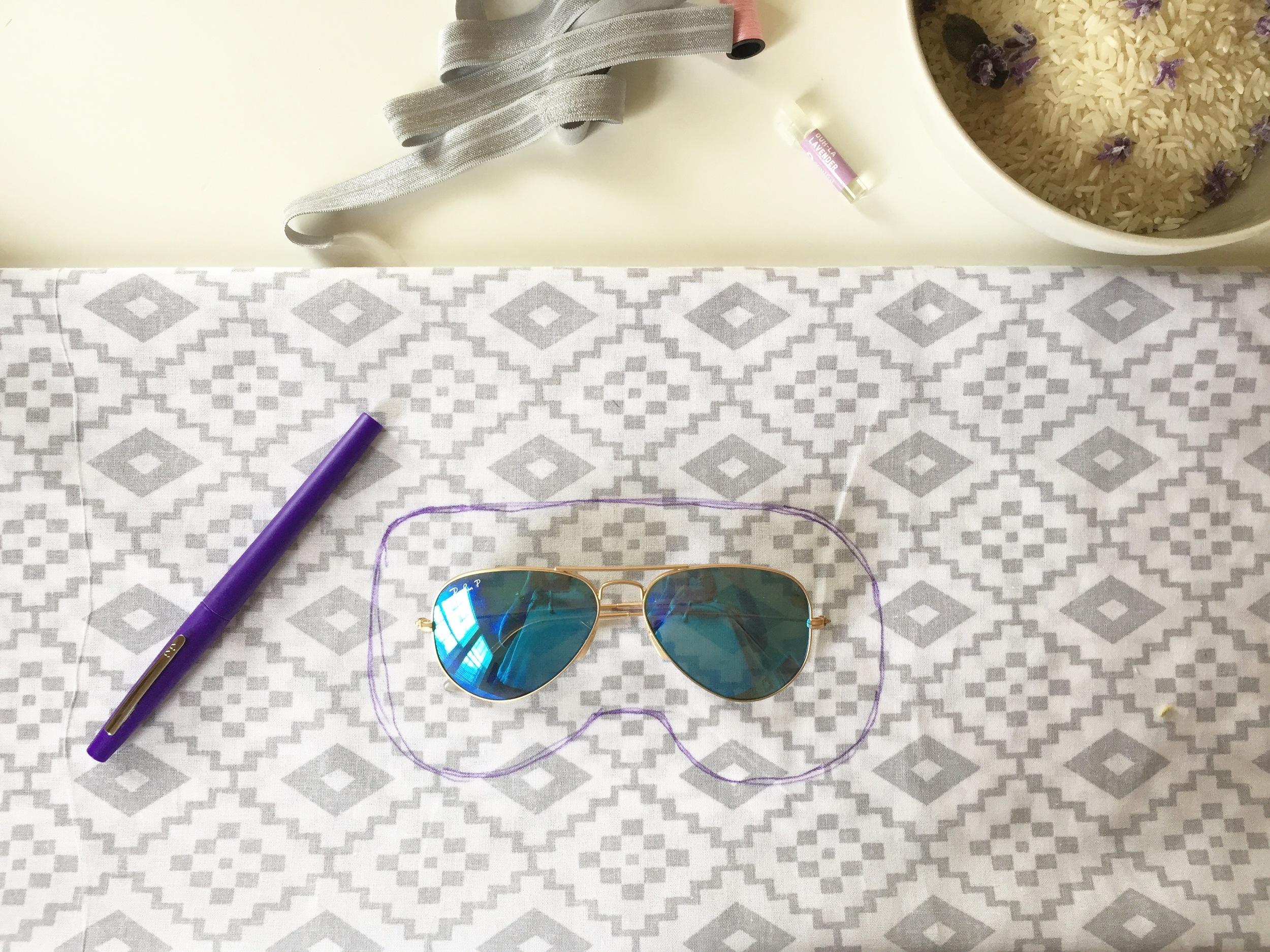 DIY Eye Pillow Pattern