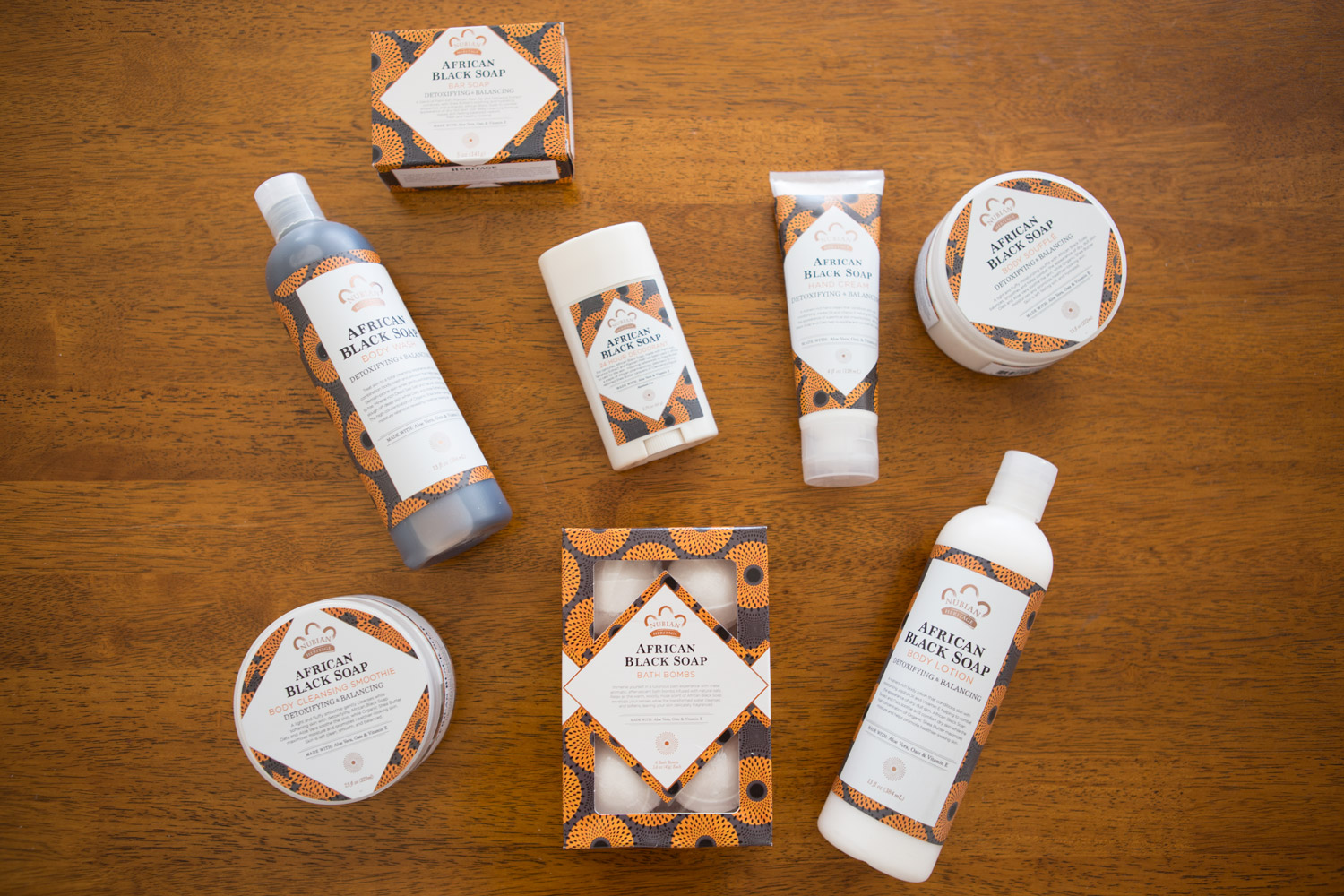African Black Soap line by Nubian Heritage
