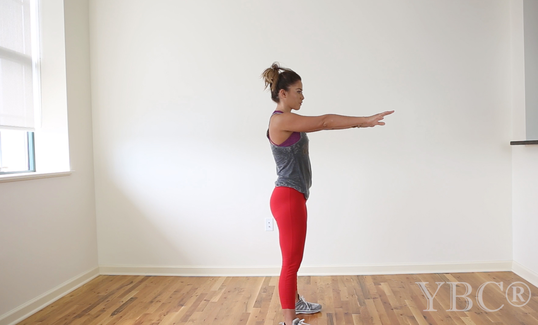 5 minute hiit workout  Wearing:  Kira Grace leggings ,  APL sneakers , Spiritual Gangster tank