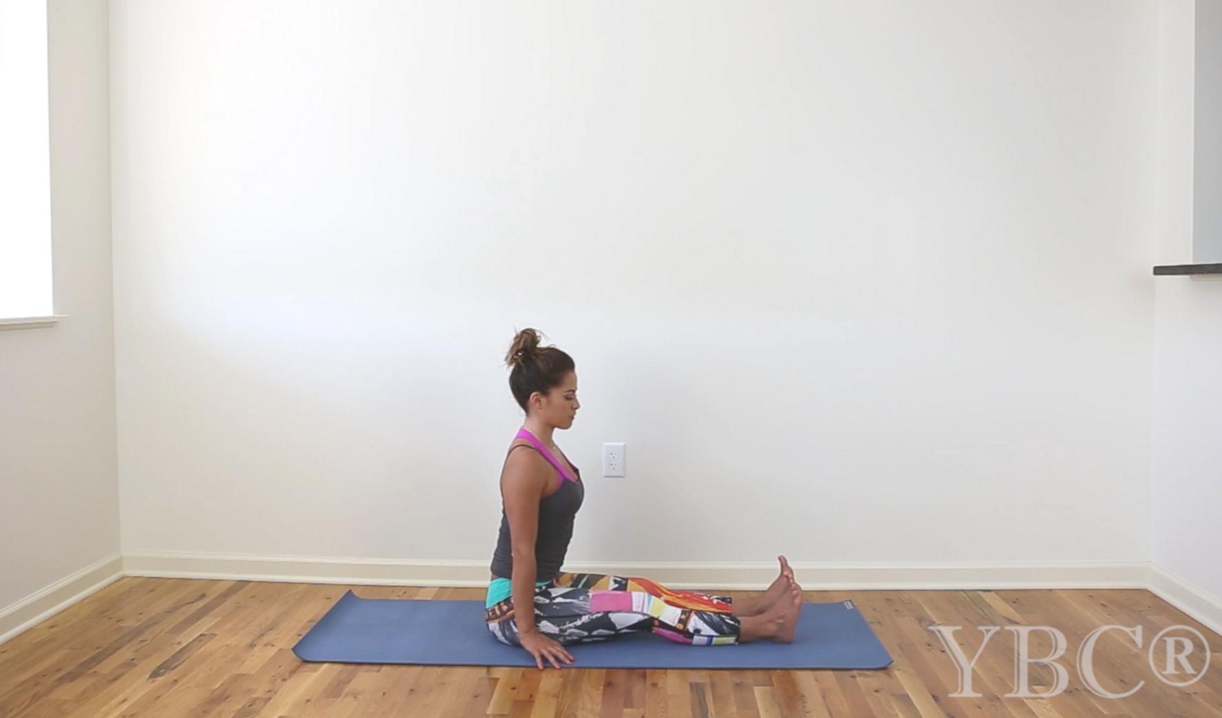 15 Minute Cool Down Yoga Video  Wearing:  Prism Sport pants , Sadhana bra