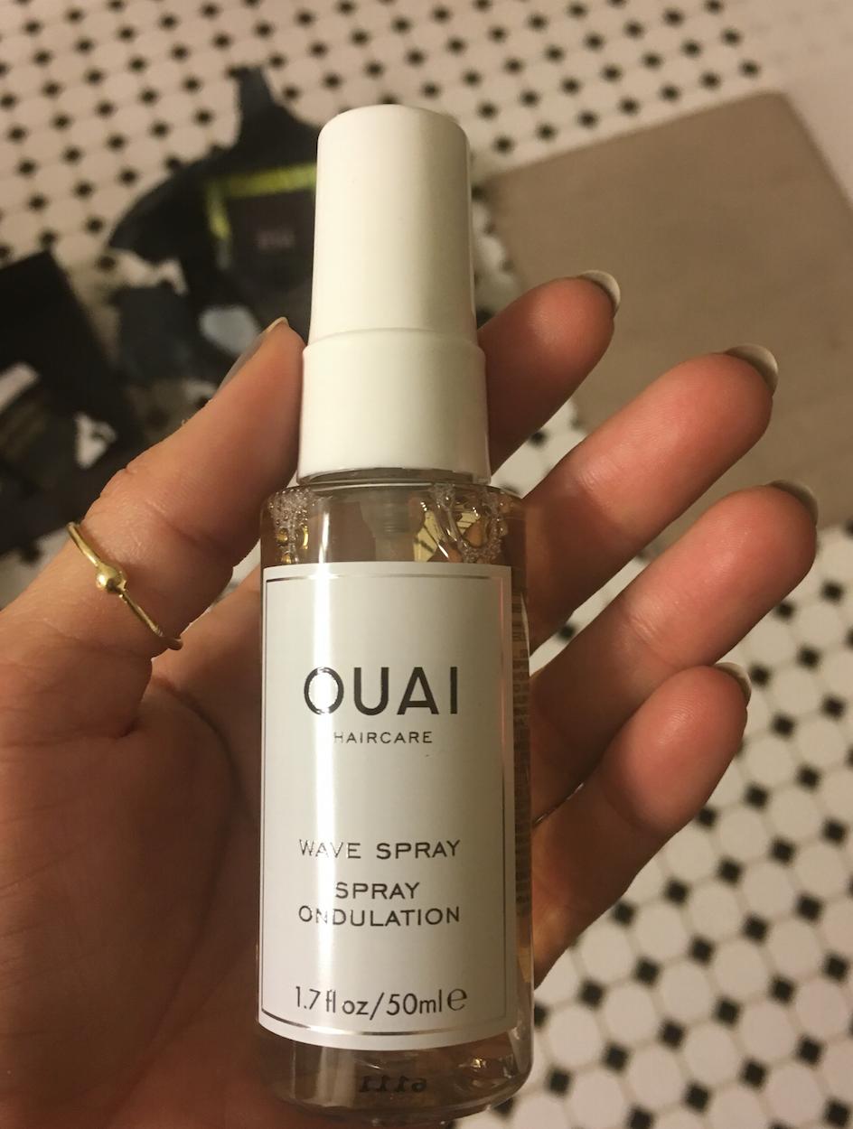 Ouai beach wave spray from the Box of Style