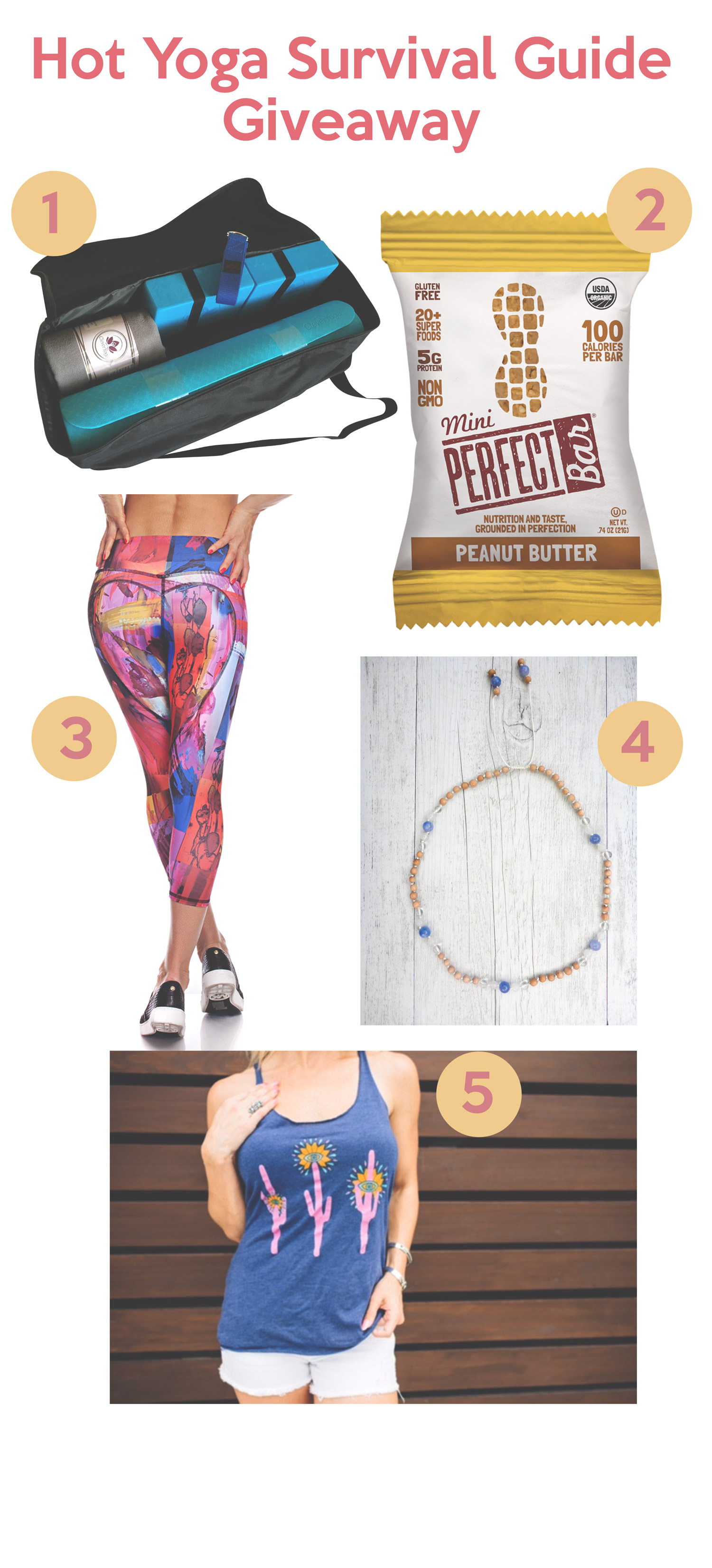 Hot Yoga Survival Guide Giveaway