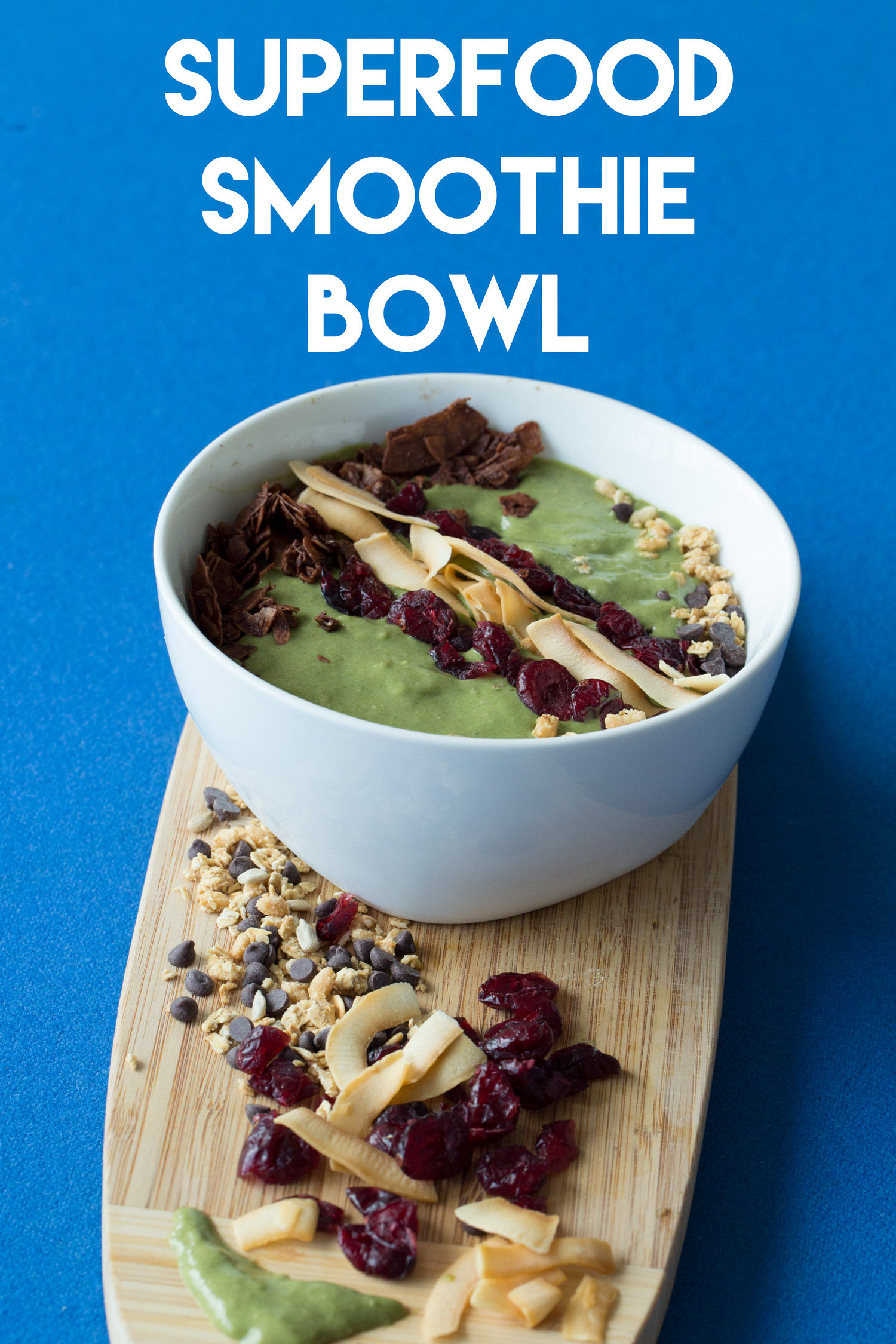 Pin now, make later - superfood smoothie bowl