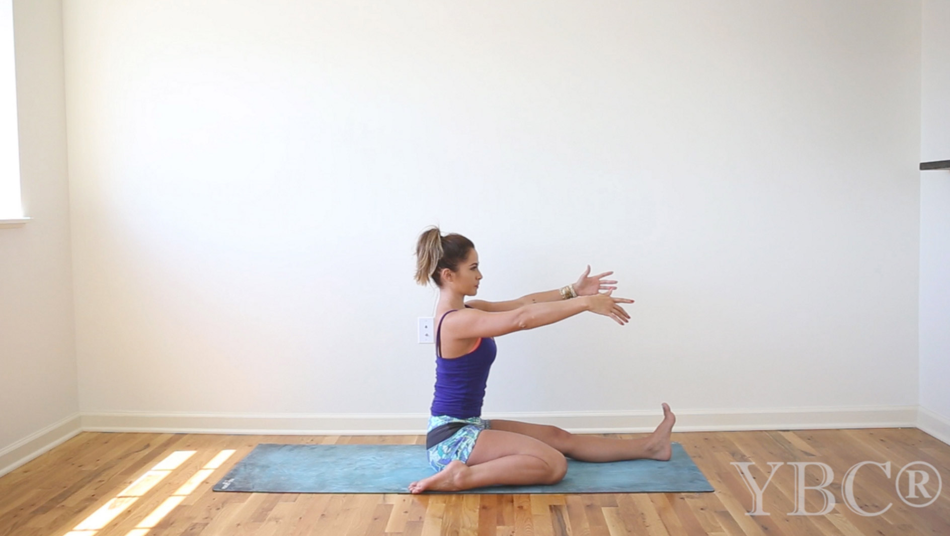 15 minute hip opening yoga practice  Wearing:  Maaji shorts  (on sale). Using:  Hot yoga mat .