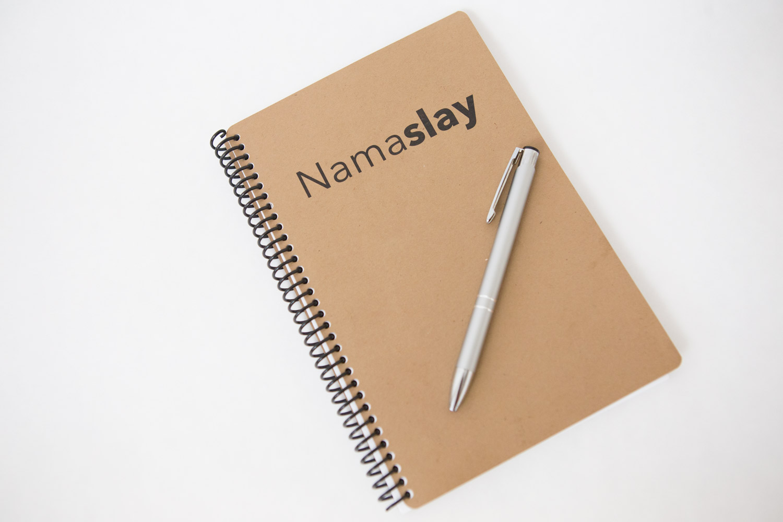 Namaslay notebook