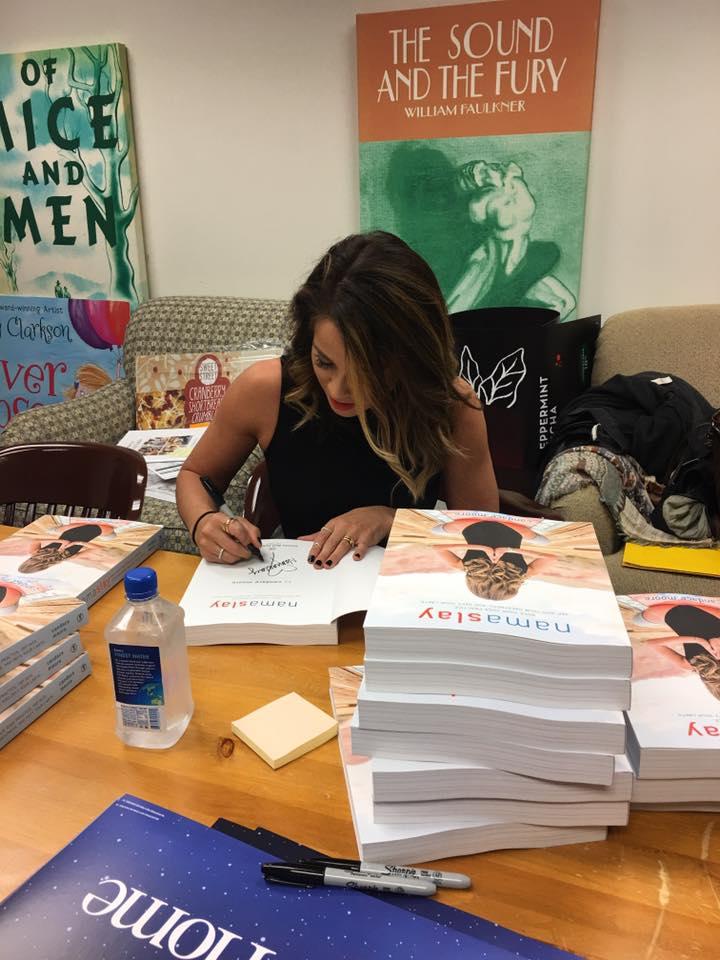 Namaslay book signing