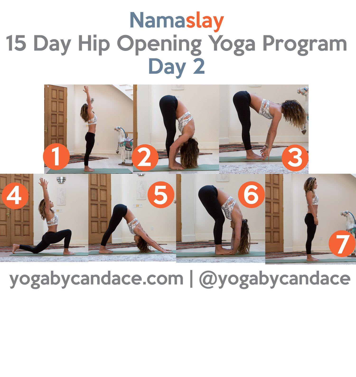 Pin now and practice later - Namaslay 15 day hip opening challenge - day 2