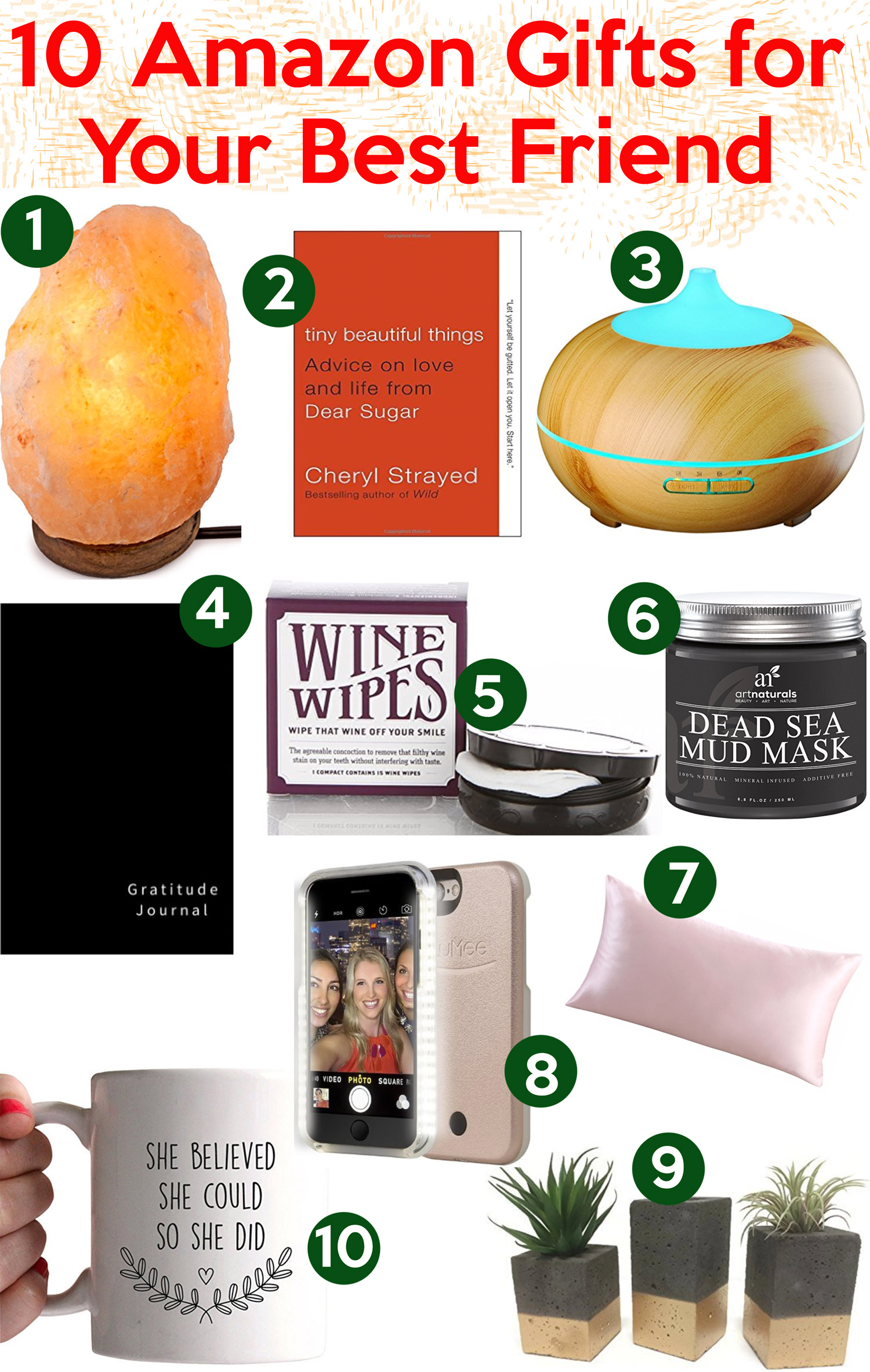Ten gifts your BFF will love