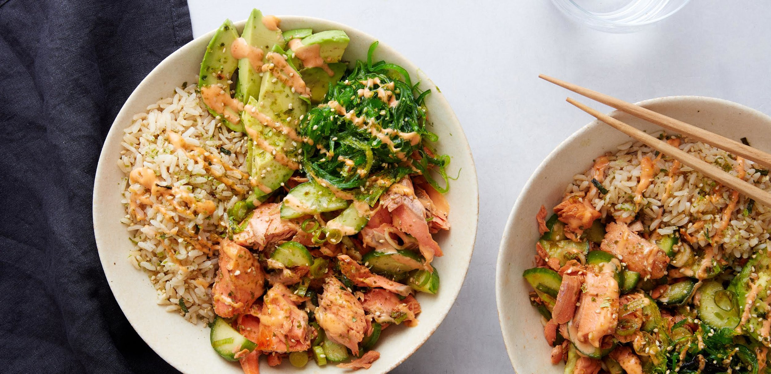 Plated Meal Delivery Service Review - Salmon poke bowl