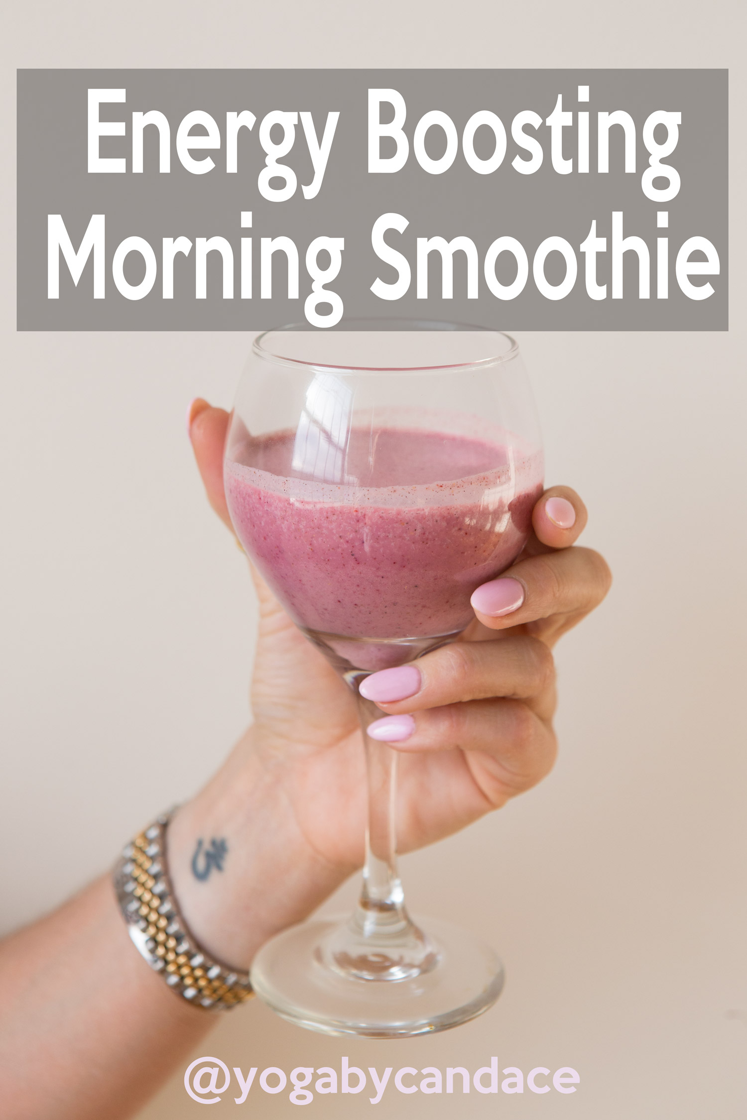 Energy Boosting Morning Smoothie Recipe