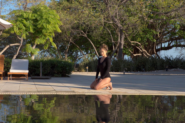 10 Day Namaslay Instagram Challenge  Wearing Tuxe bodysuit ( short sleeve version )