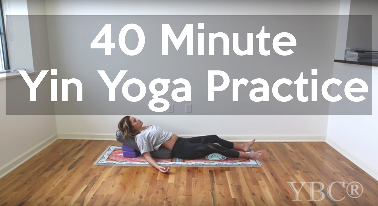 40 Minute Yin Yoga Practice - Pin on  Pinterest  now for easy reference later