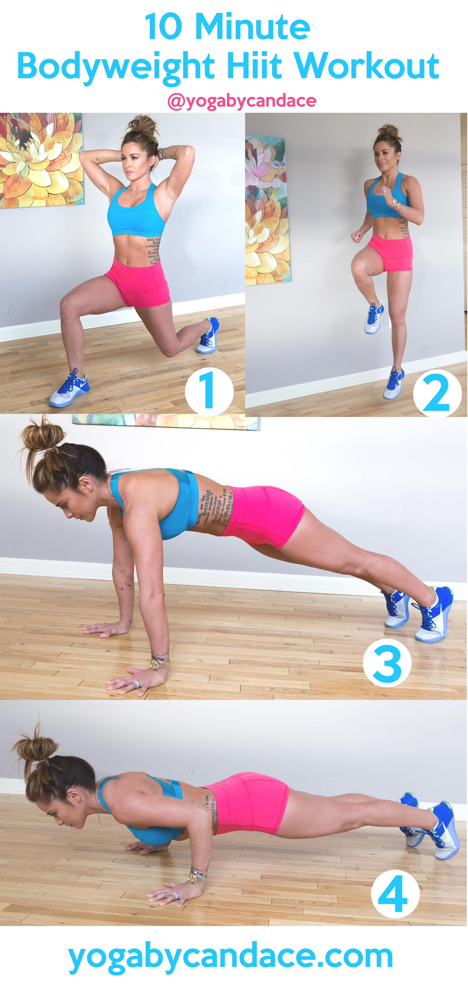 Bodyweight hiit workout