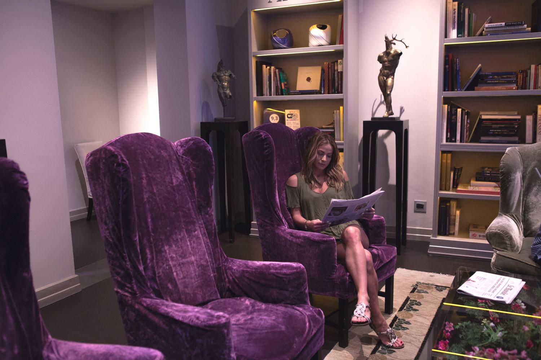 Reading room at Firenze Number Nine