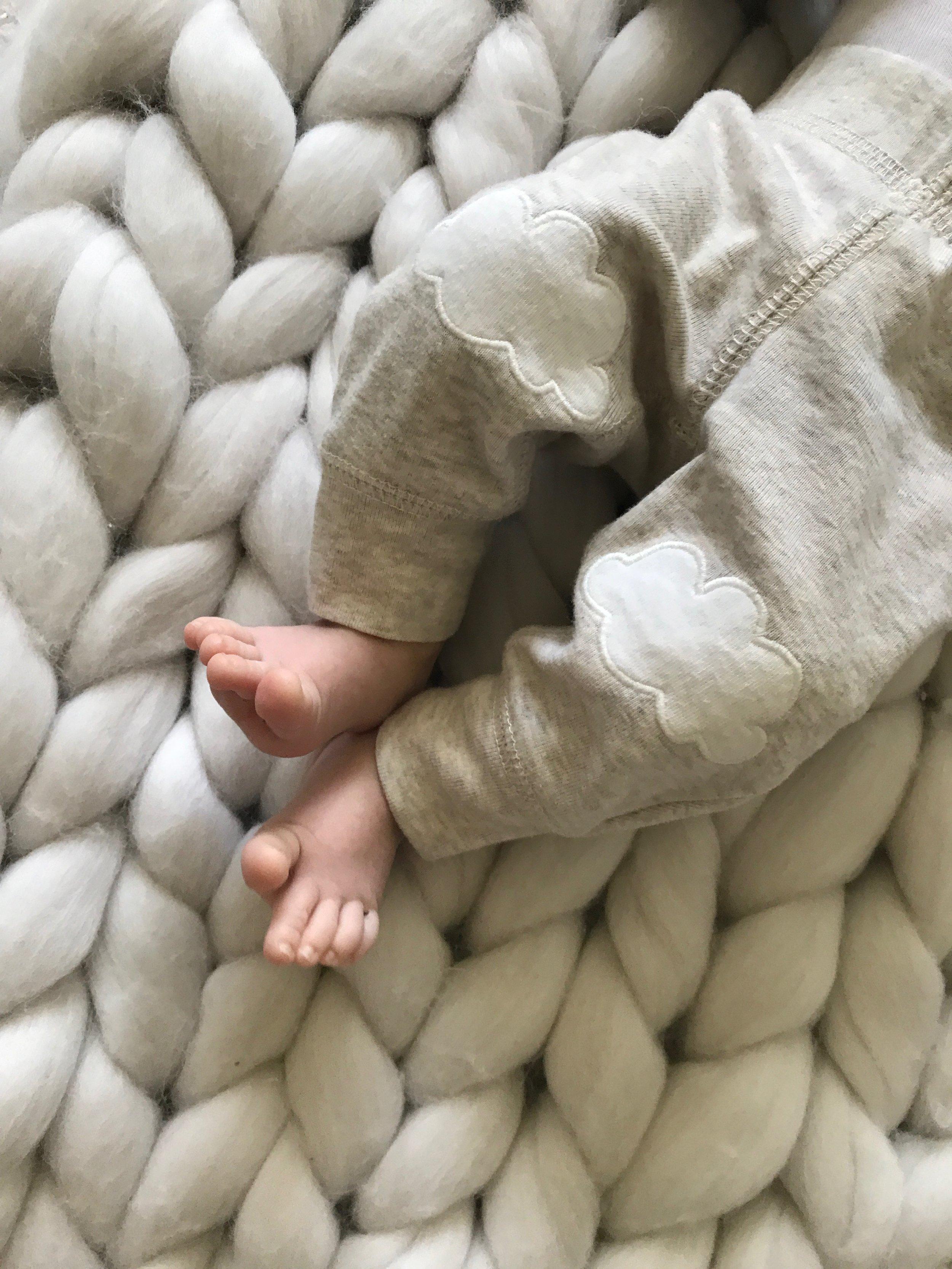 Woolly Cloud  Merino Wool Blanket