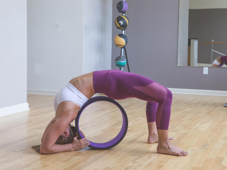 Yoga Wheel for Deep Backbend