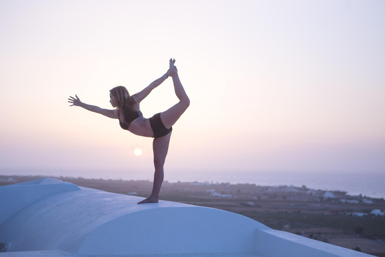 Santorini, Greece yoga retreat