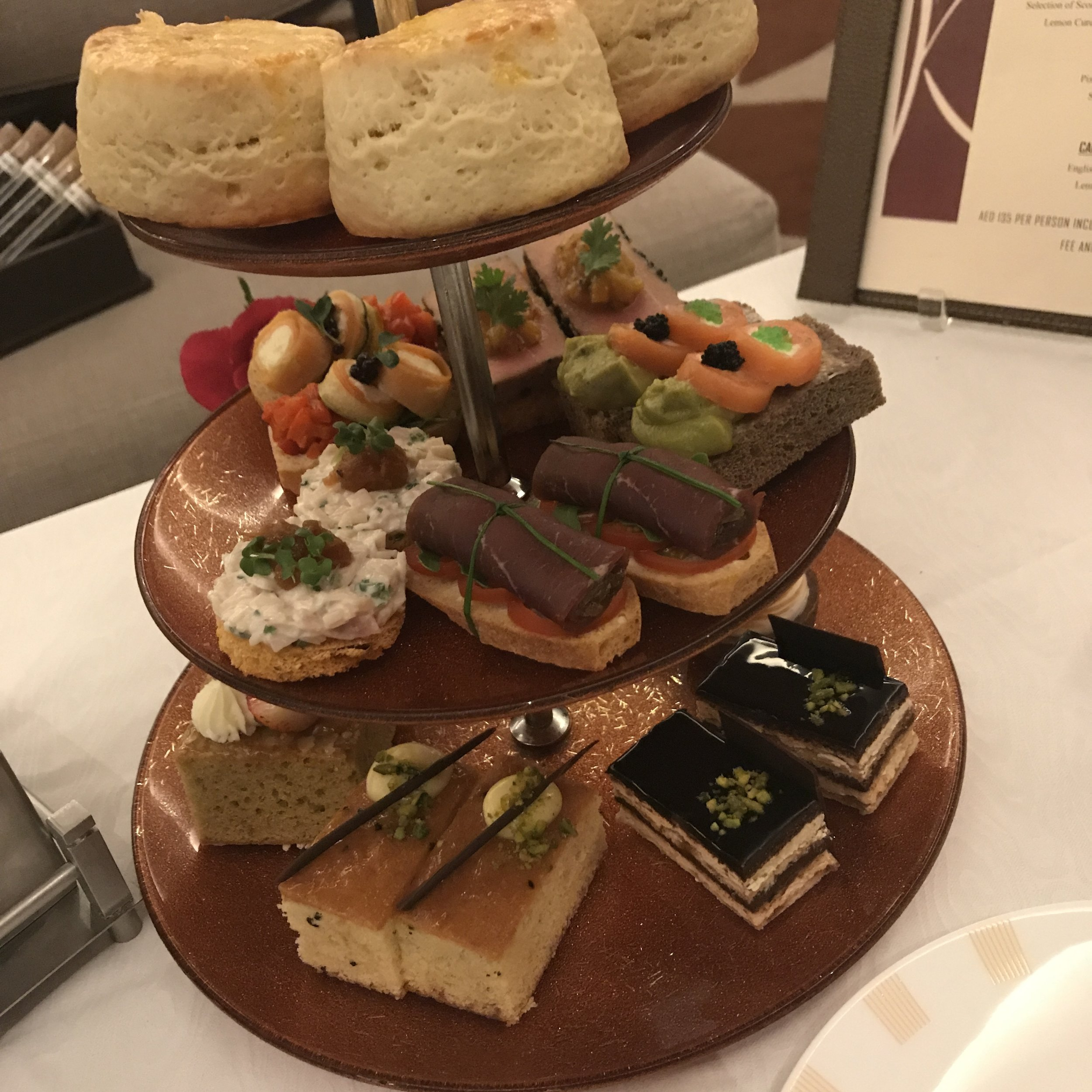 High Tea at Address Dubai Marina