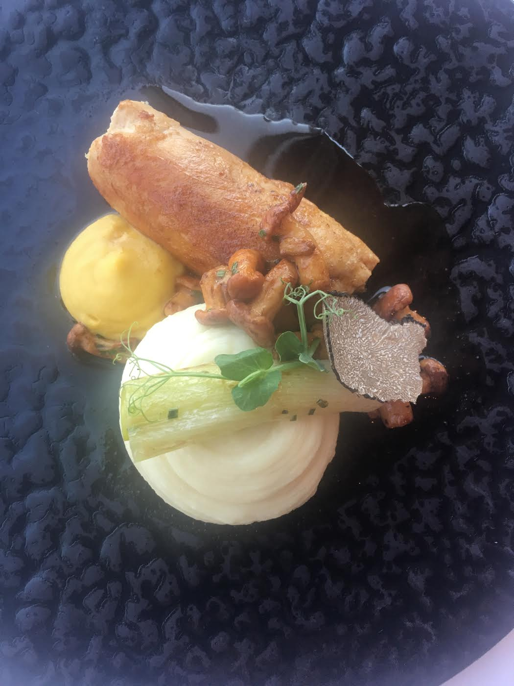 Chicken dish at At.Mosphere