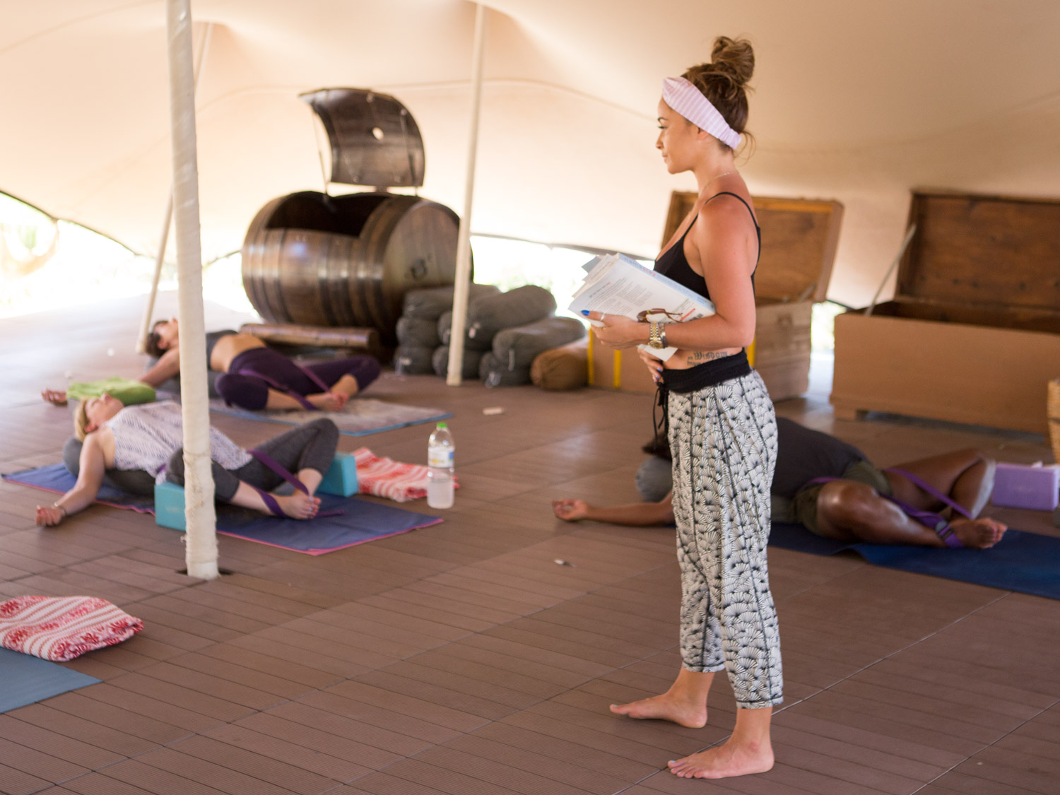 intensive 200hr yoga teacher training program
