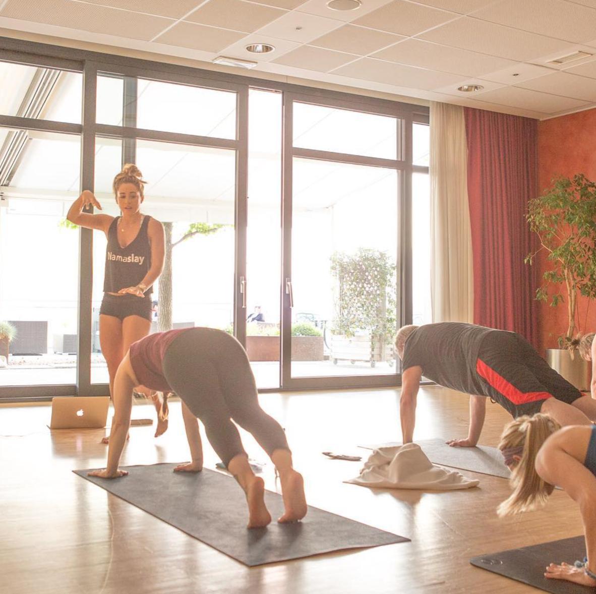 Spring yoga retreat 2018