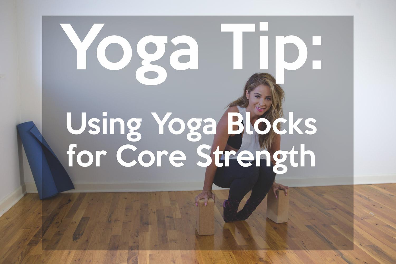Yoga Blocks for Core Strength
