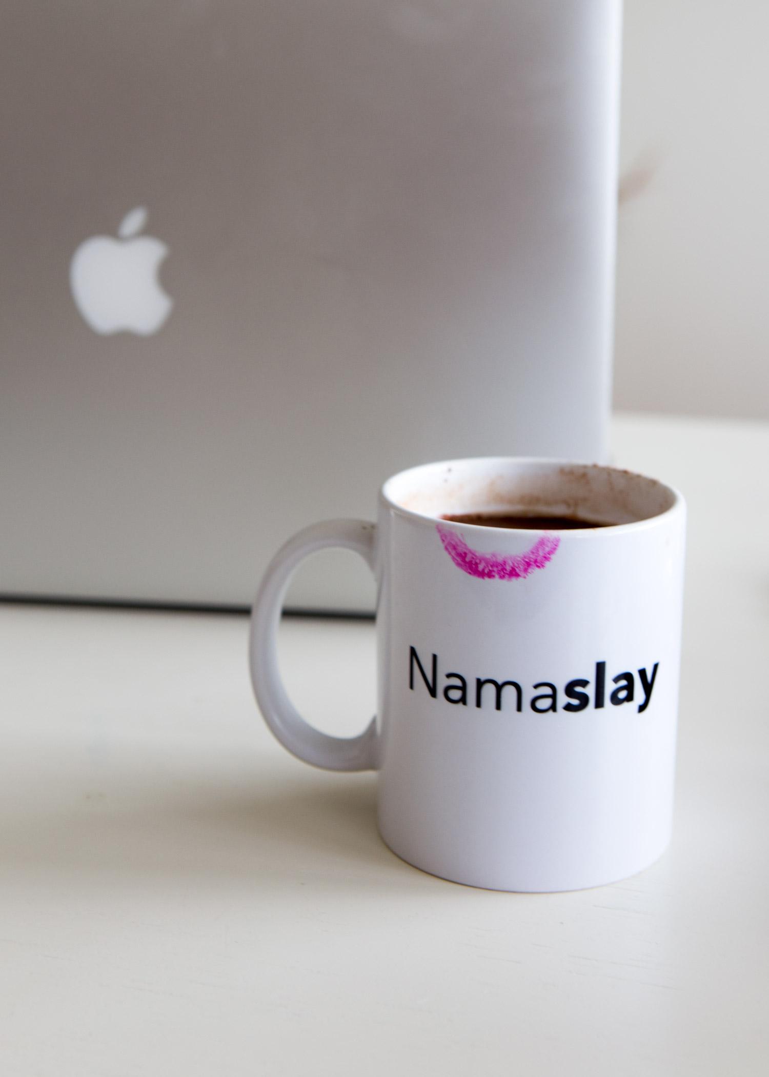 Namaslay Mug here