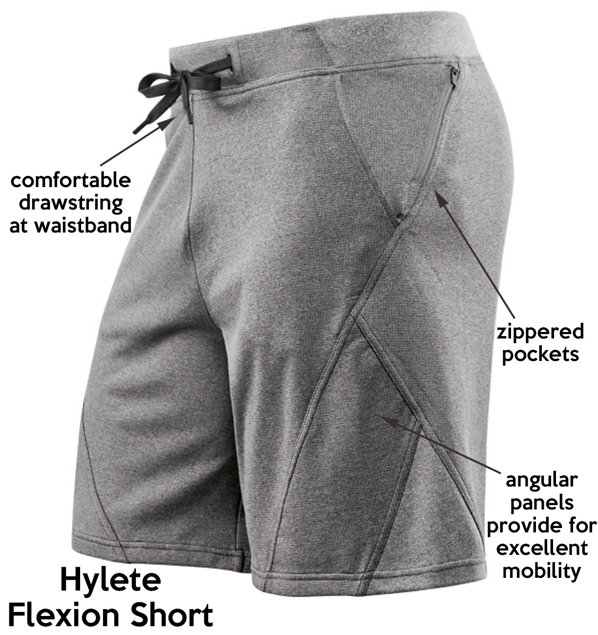 Hylete flexion short