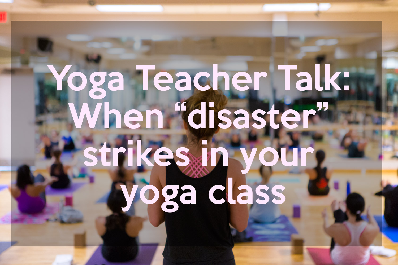 Yoga Teacher Talk