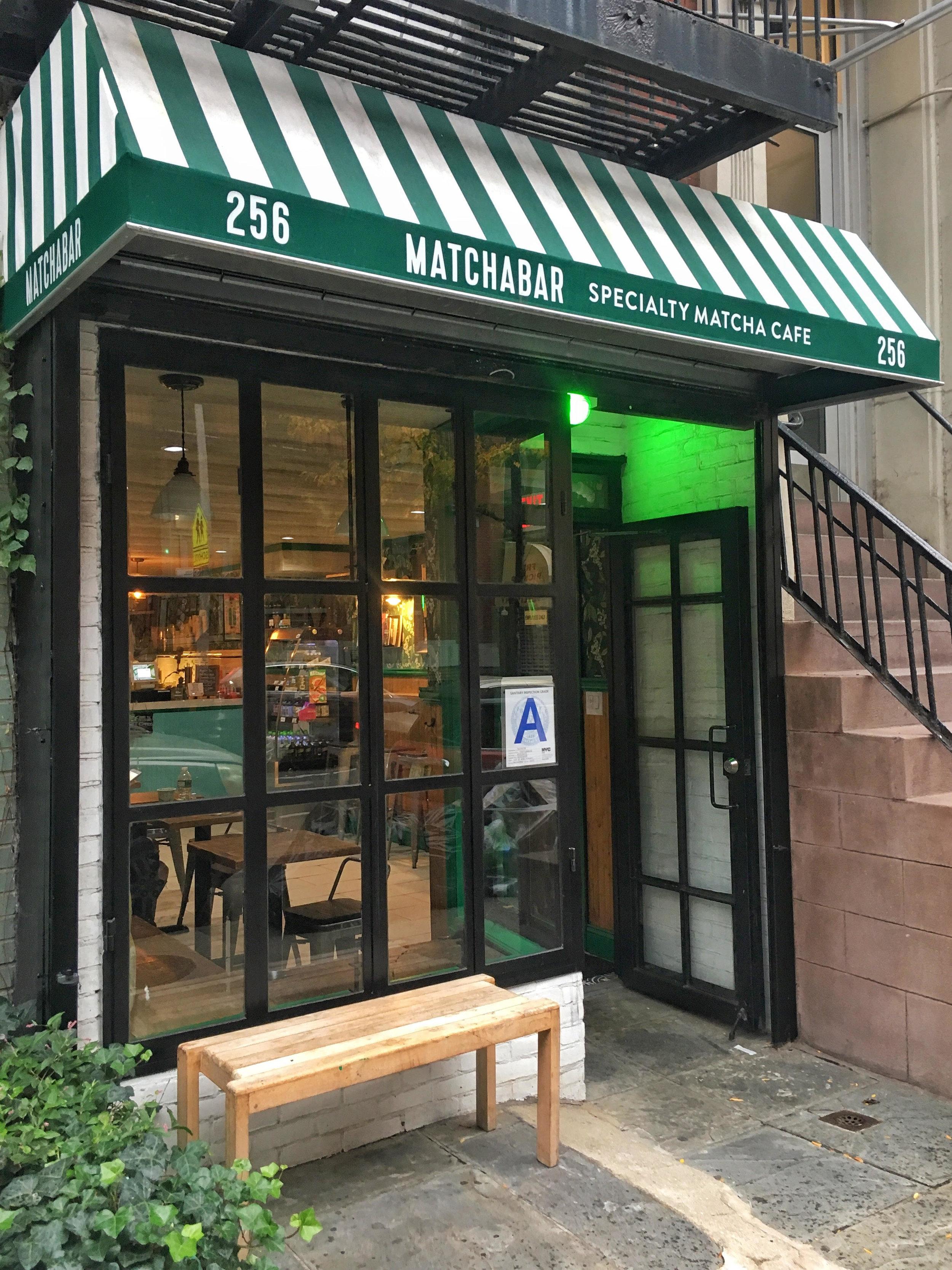 MatchaBar in Chelsea, Manhattan