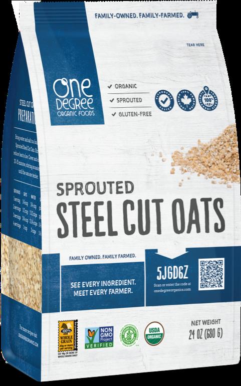 One Degree Organic Foods Steel Cut Oats