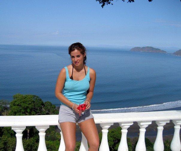 Me in my early twenties, in Costa Rica