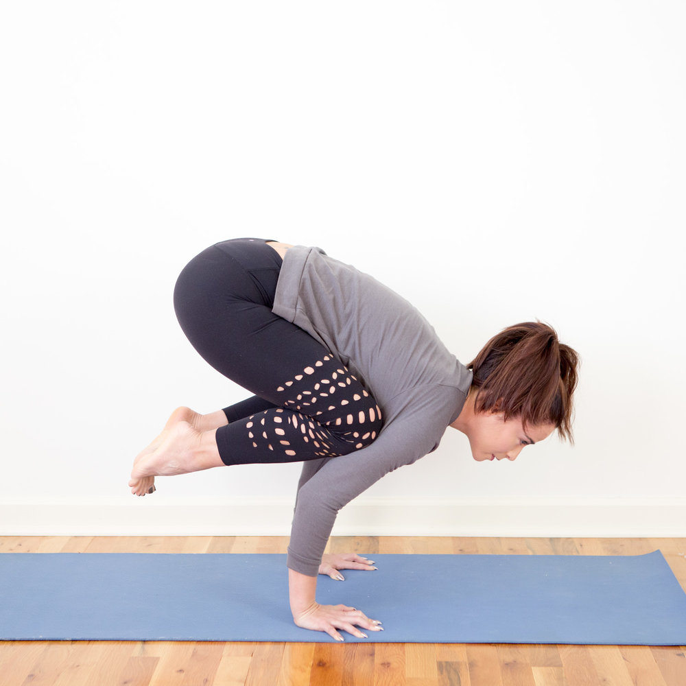Crow Pose Everything You Need to Know — YOGABYCANDACE