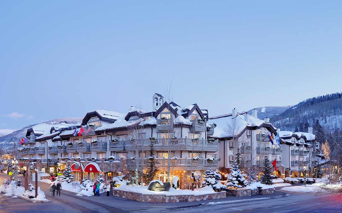 The Sonnenalp Hotel in Vail, CO