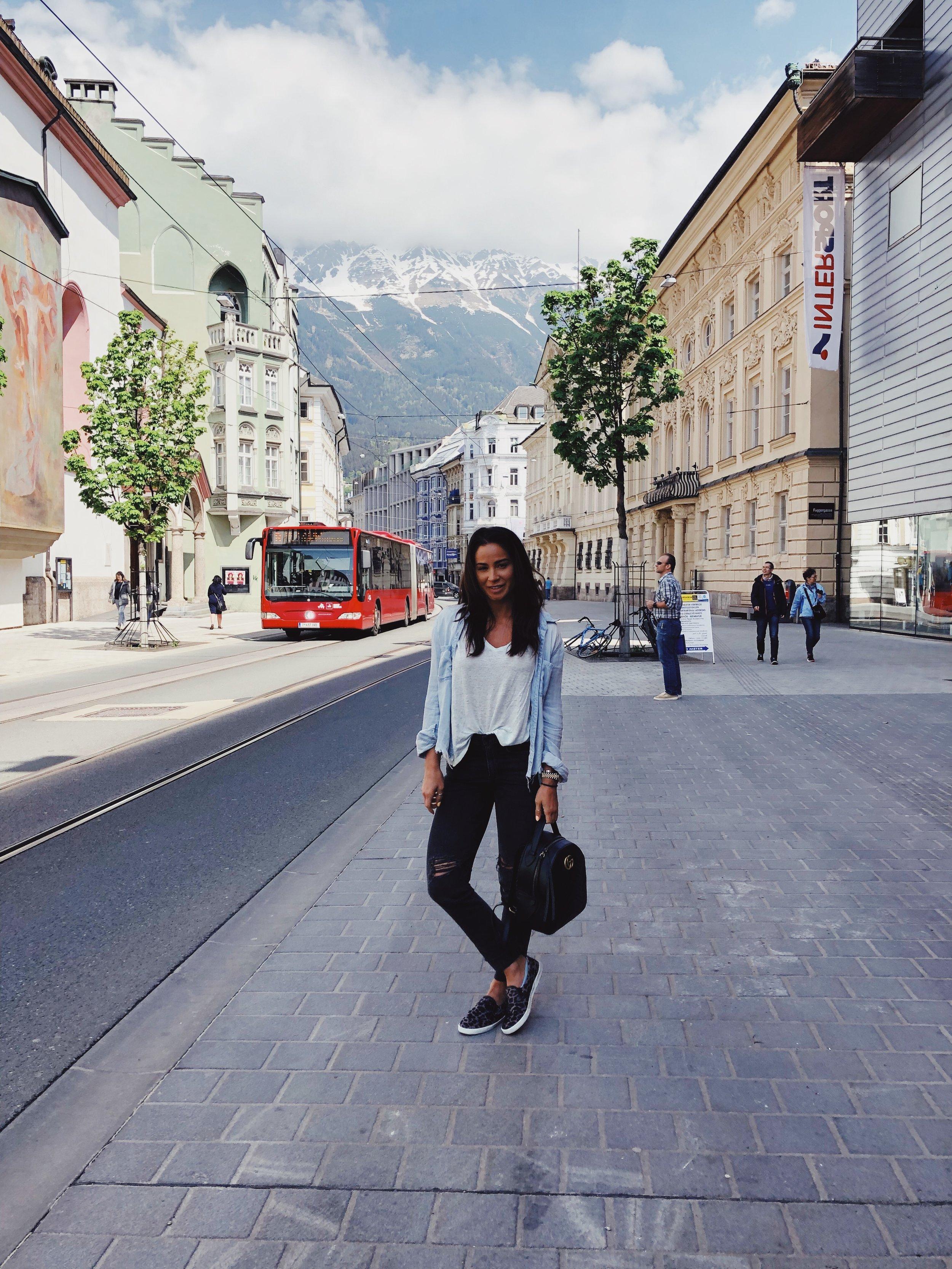 Post breakfast in Innsbruck