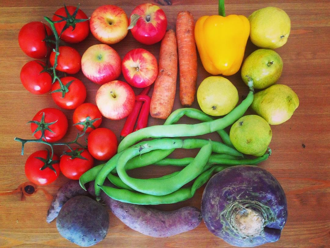 Start small - buy loose produce