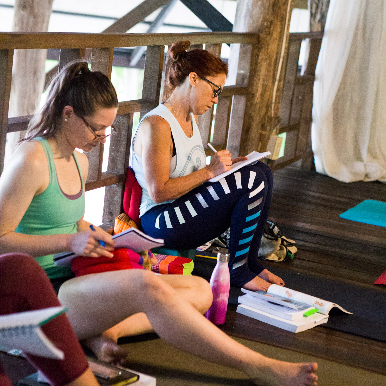 Namaslay® YTT students begin each day with journaling and meditation