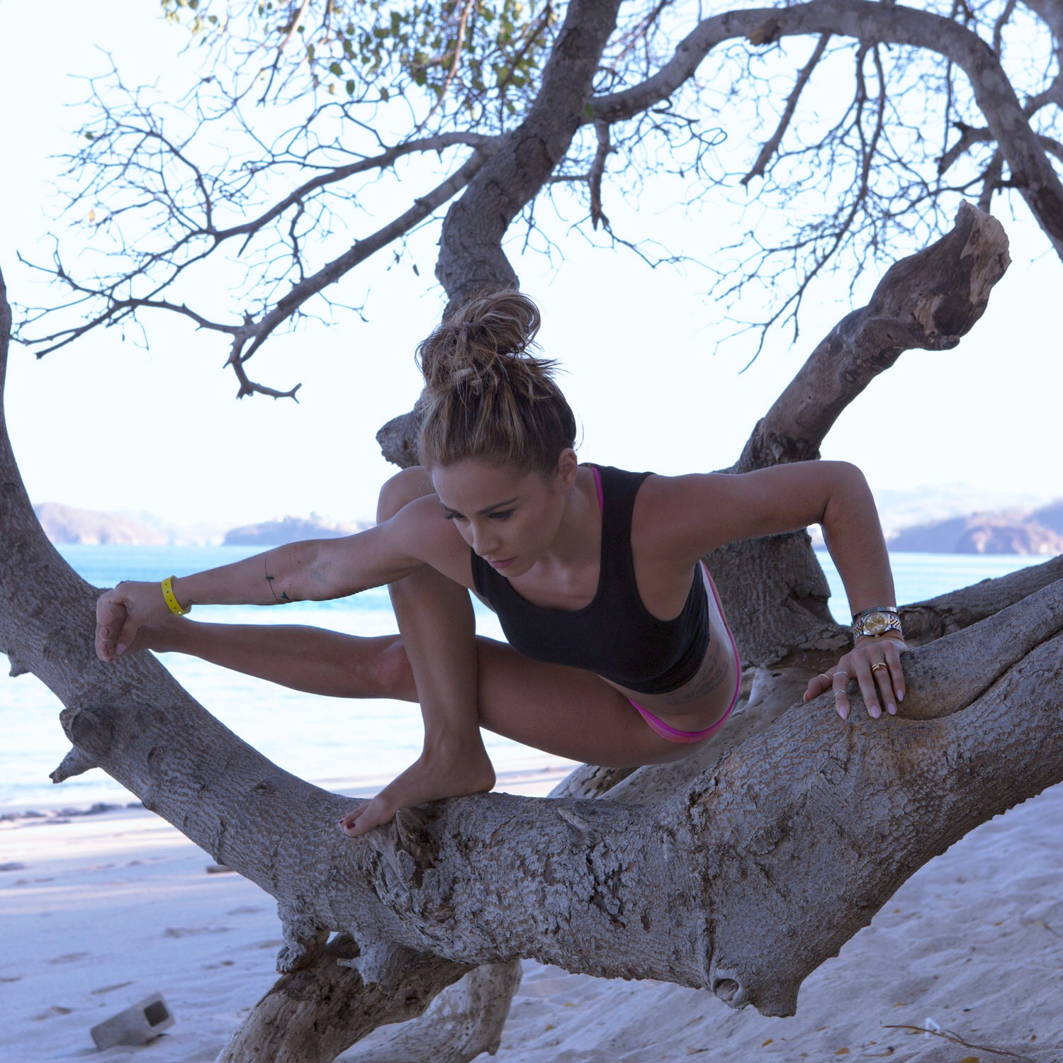 Costa Rica - Yoga on a tree