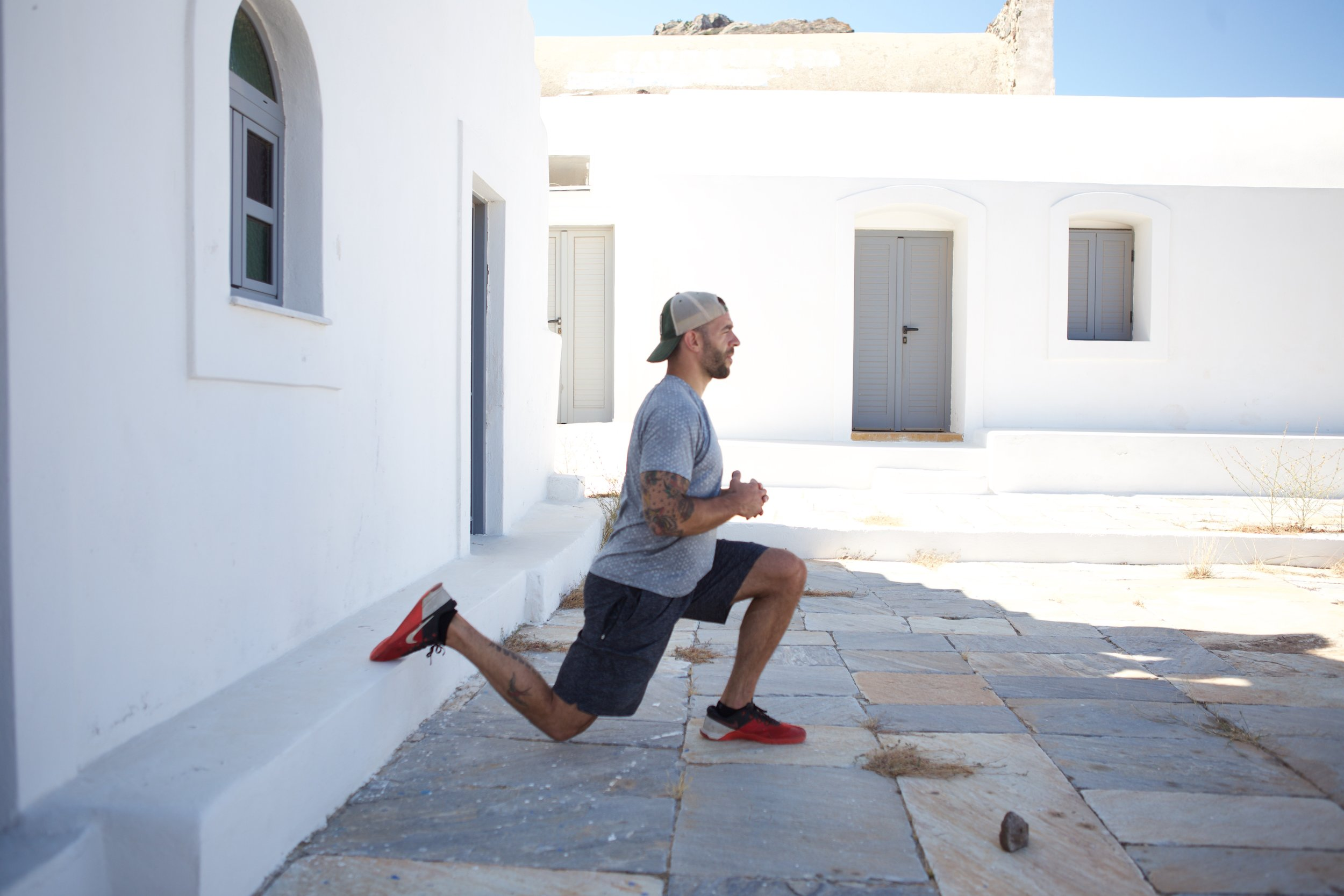 A travel workout you can do with minimal equipment