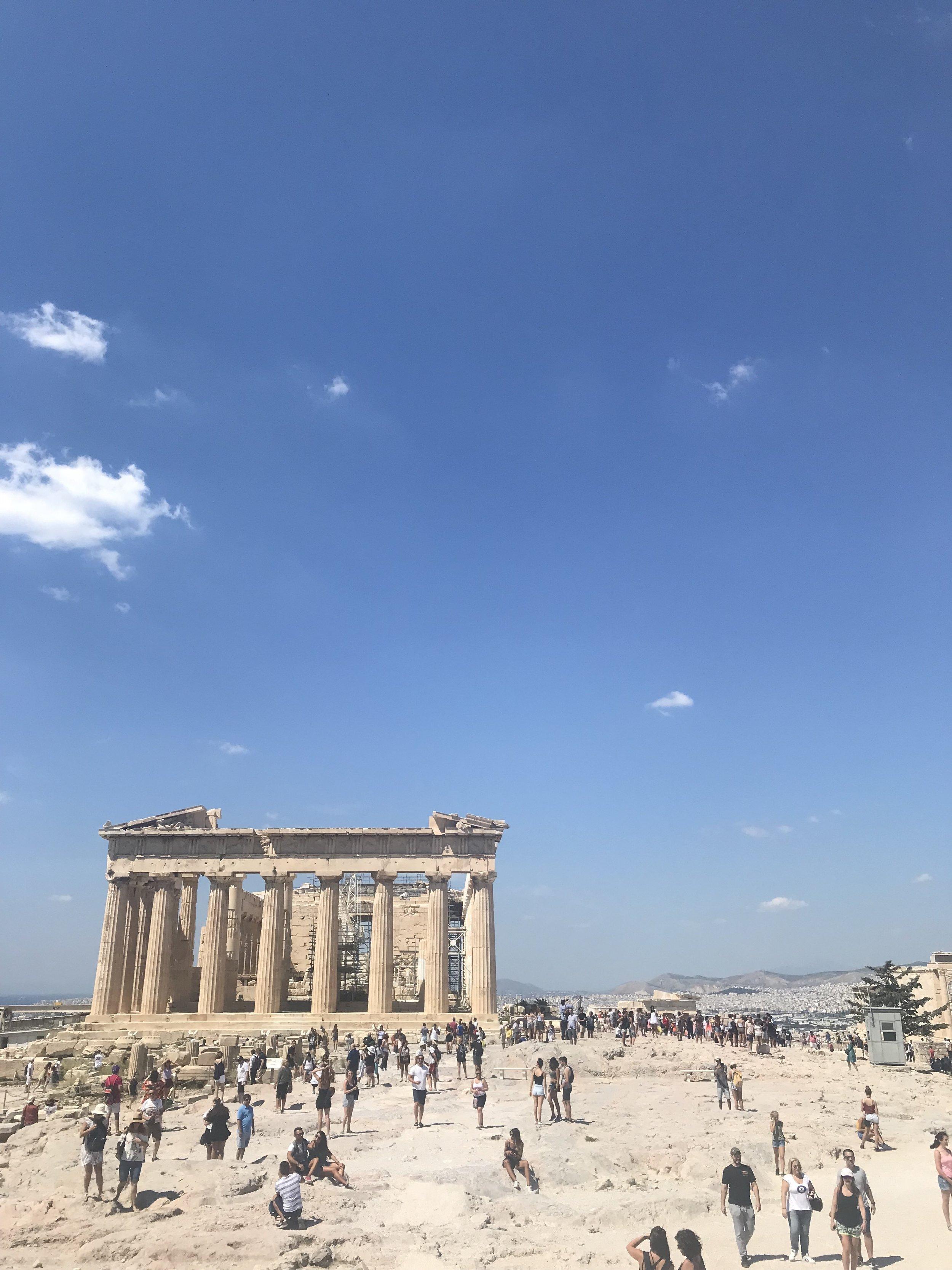 The Parthenon - Acropolis