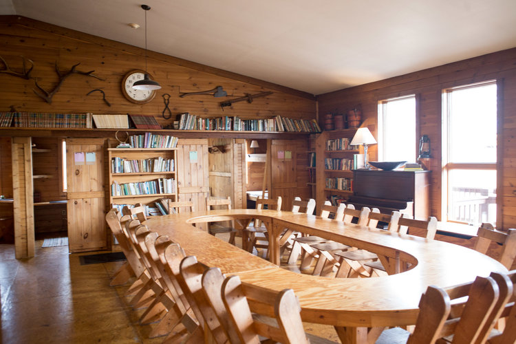 The Lodge - Seating area for meals and lectures