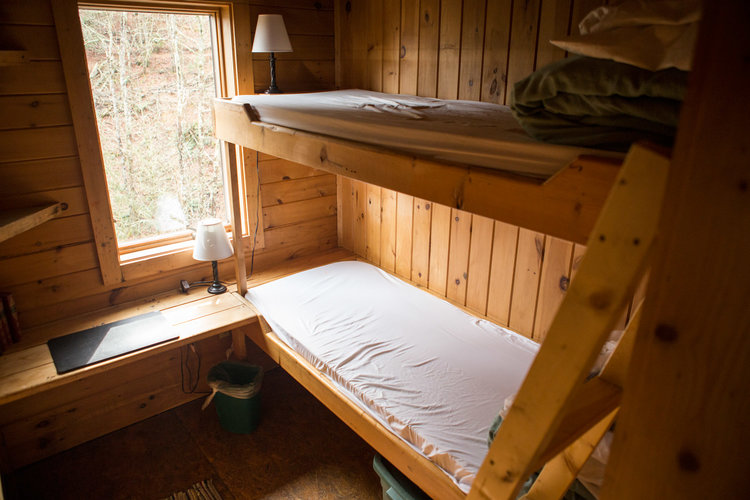Bedrooms with XL Twin bunkbeds