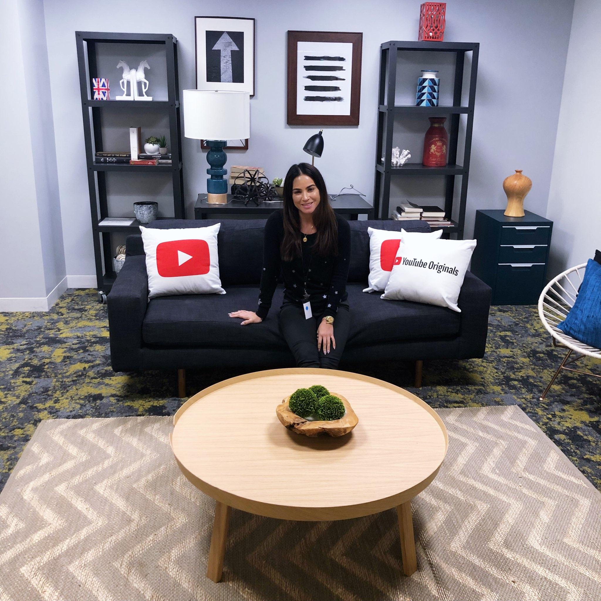 At YouTube in Los Angeles