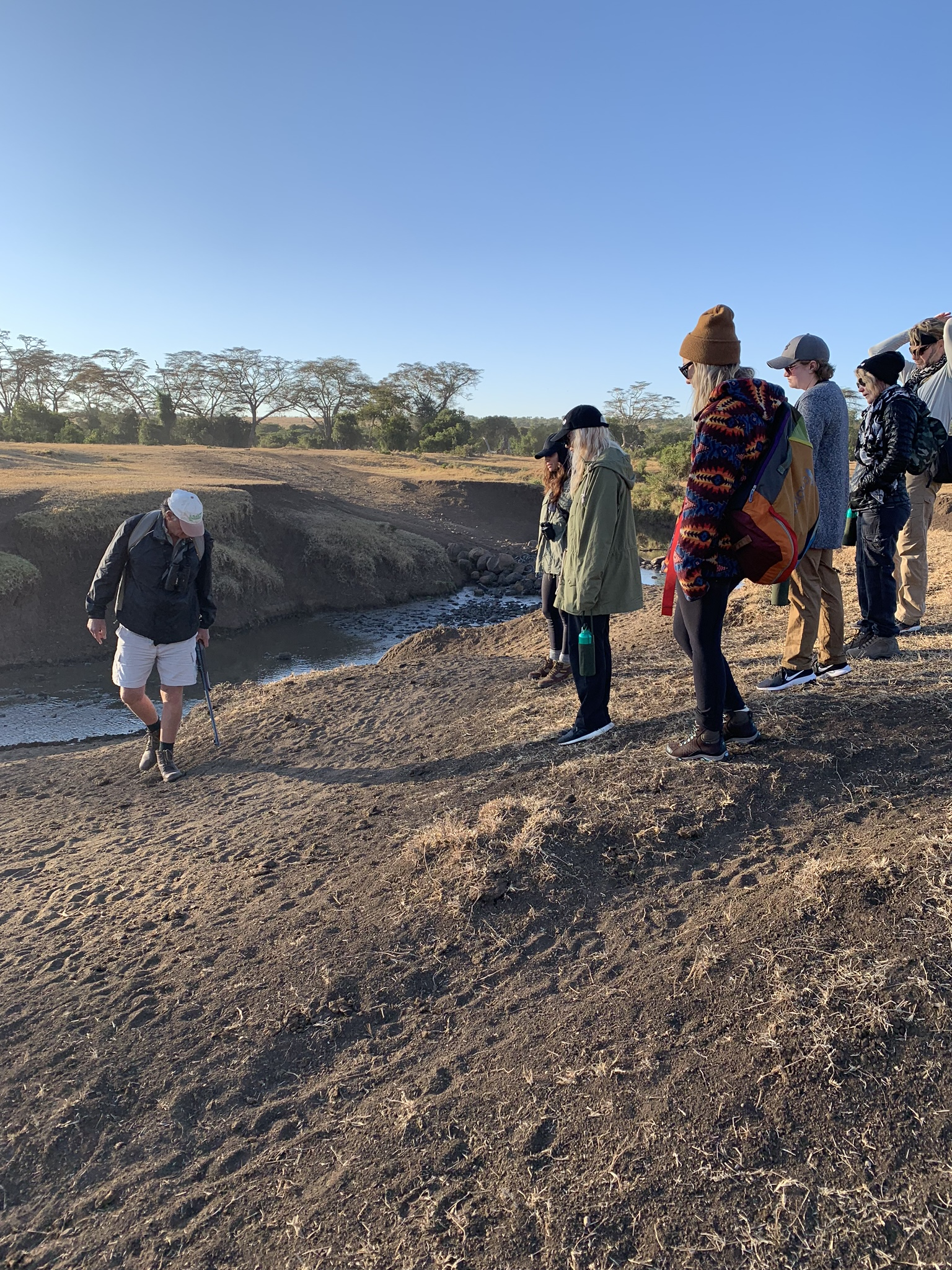 Andy, the owner of The Safari Cottages, lead a bush walk where we learned all the things… including everything you'd ever want to know about Elephant Poop (ha!)