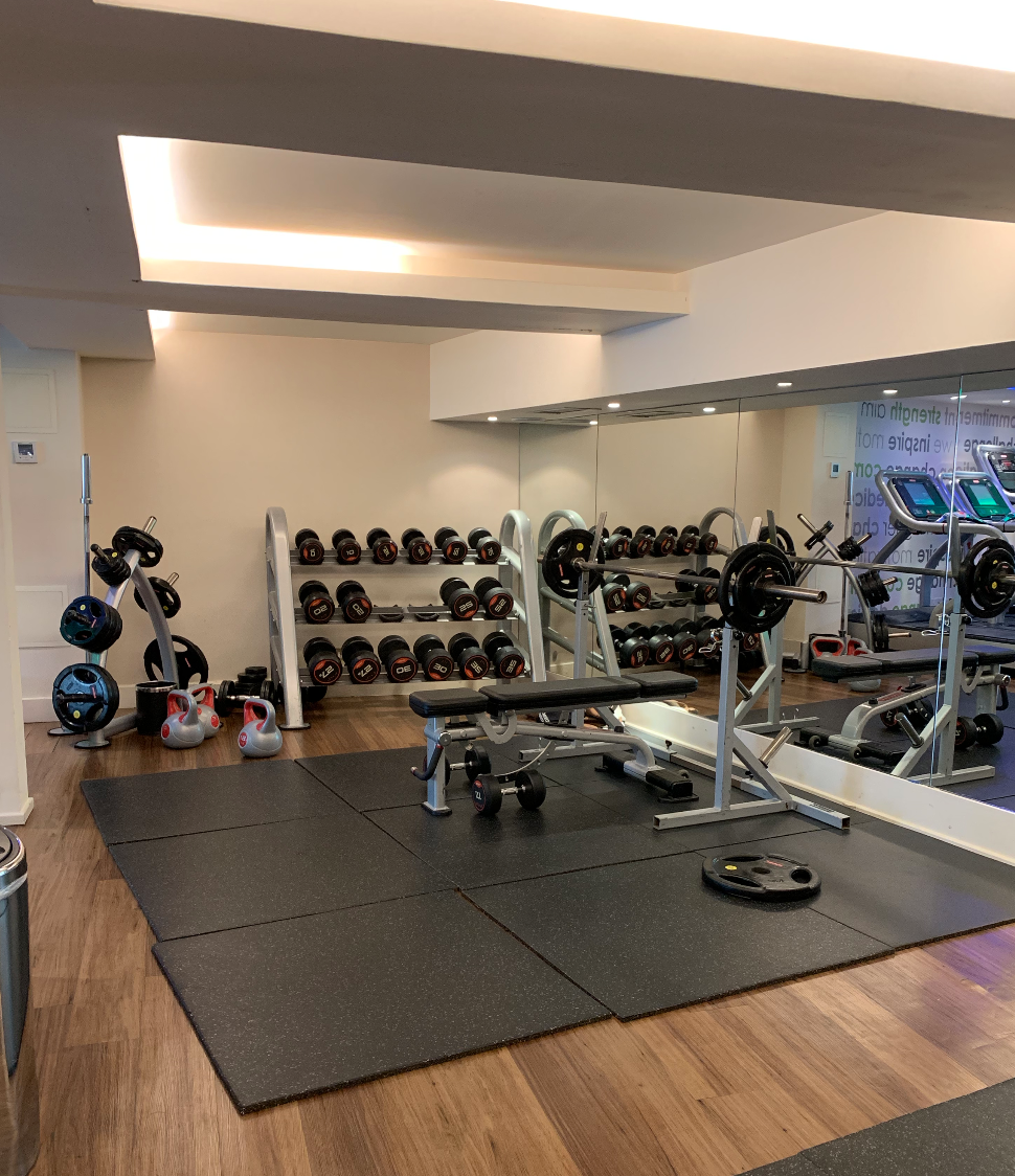 Gym at K West Hotel and Spa